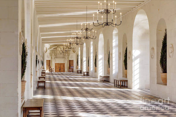 Photograph - Chateau Chenonceau Interior by Brian Jannsen