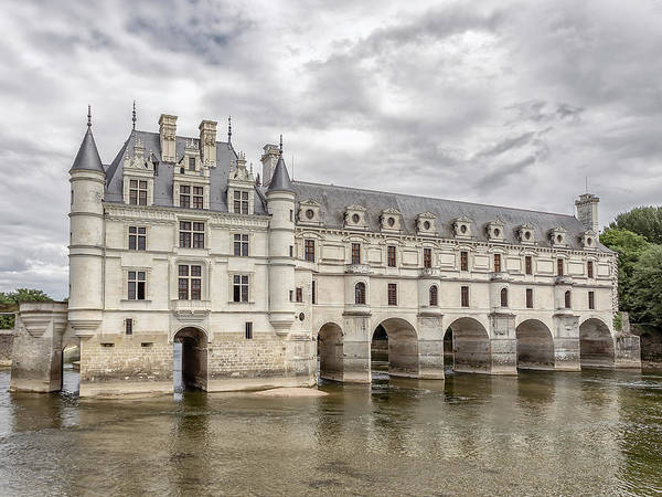 Photograph - Chateau Chenonceau by Mark Playle