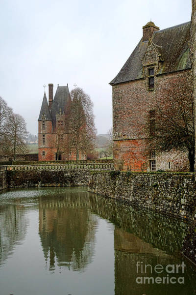 Wall Art - Photograph - Chateau De Carrouges by Olivier Le Queinec
