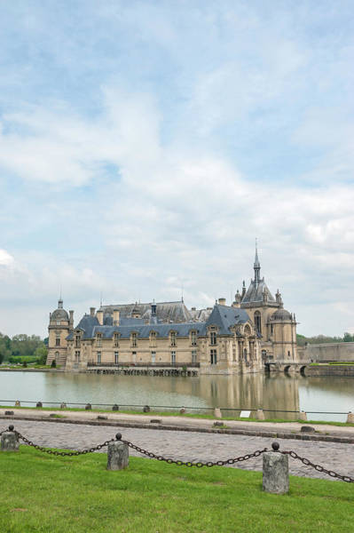 Wall Art - Photograph - Chateau De Chantilly, Chantilly, France by Jim Engelbrecht