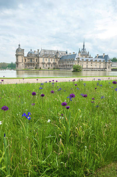 Wall Art - Photograph - Chateau De Chantilly, Chantilly, France by Lisa S. Engelbrecht