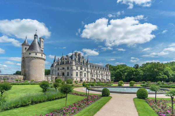 Wall Art - Photograph - Chateau De Chenonceau, Chenonceaux by Jim Engelbrecht