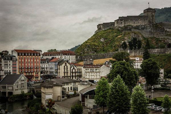 Roman Fort Photograph - Chateau Fort De Lourdes by Everet Regal