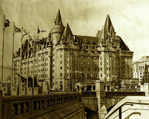 Photograph - Chateau Laurier - A Century Of Existence by Tatiana Travelways