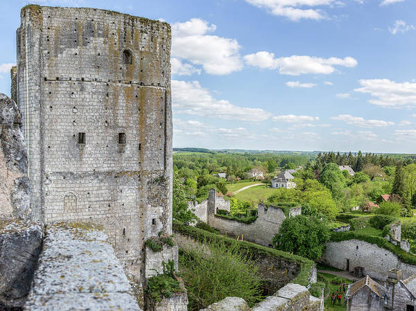 Photograph - Chateau Loches by Mark Playle