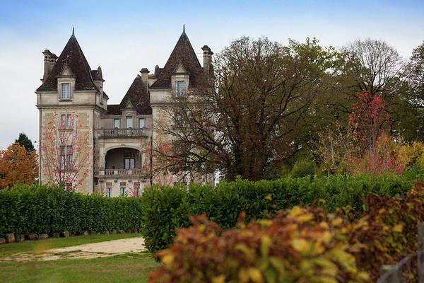 Chateau, Near Beynac, France Art Print