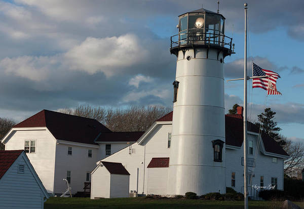 Wall Art - Photograph - Chatham Coast Guard Lighthouse Along The Cape by Suzanne Gaff