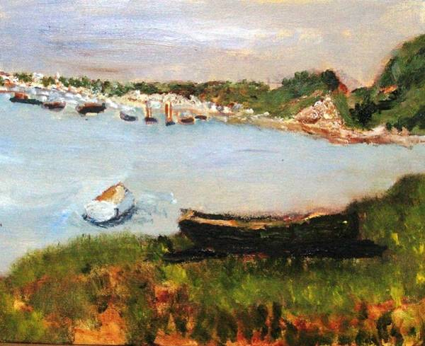 Painting - Chatham Scene by Michael Helfen