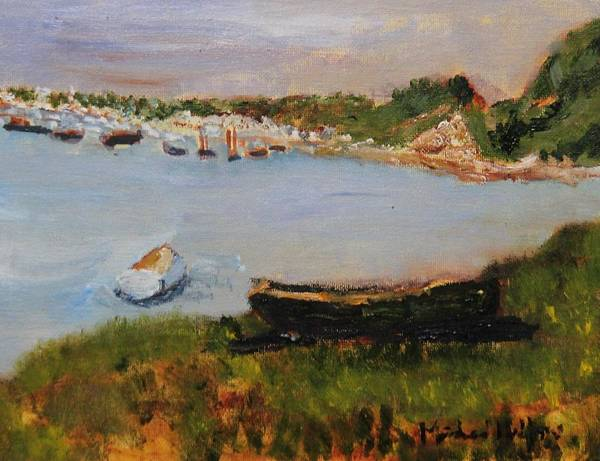 Painting - Chatham Town Cove by Michael Helfen