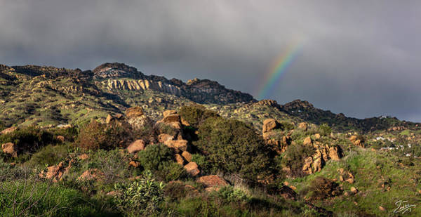 Photograph - Chatsworth Rainbow by Endre Balogh