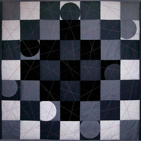 Checkers And Pick-up-sticks Art Print