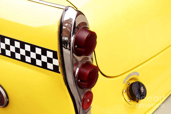 Wall Art - Photograph - Checkered Cab by Jonathan Feinstein