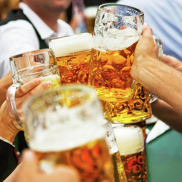 Drinking Glass Photograph - Cheers by Nikada