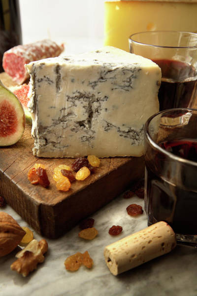 Wall Art - Photograph - Cheese Stills Blue Cheese by Floortje