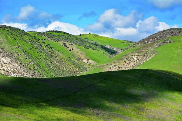 Photograph - Cheeseboro Palo Comado Canyon Green Hills by Kyle Hanson
