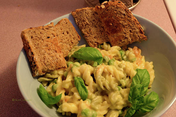 Photograph - Cheesy Pasta Lunch by Kae Cheatham