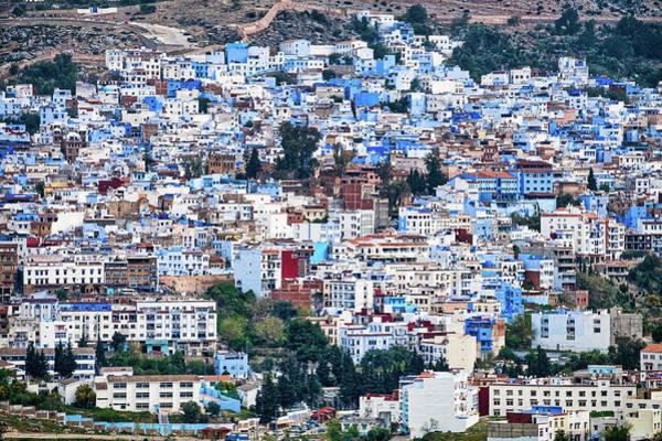 Photograph - Chefchaouen Cityscape - Morocco by Stuart Litoff