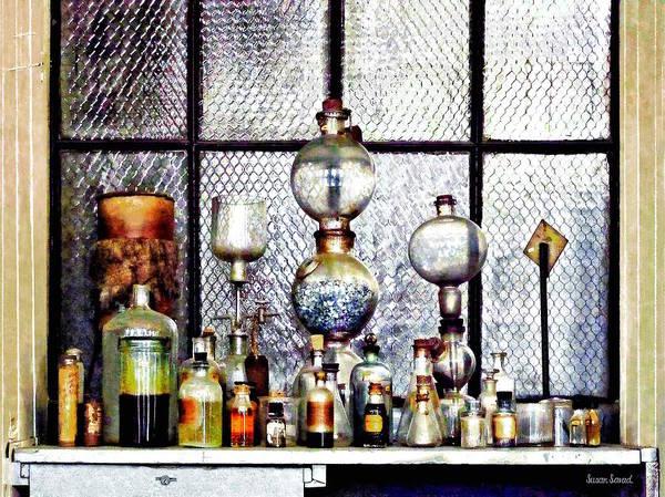 Photograph - Chemist - Laboratory Glassware by Susan Savad