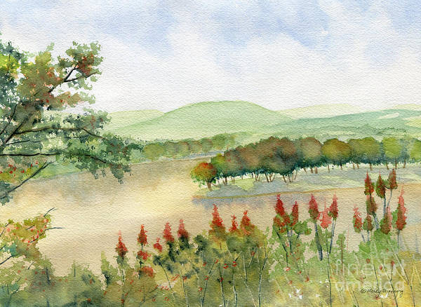 Endless Painting - Chemung River Autumn by Melly Terpening
