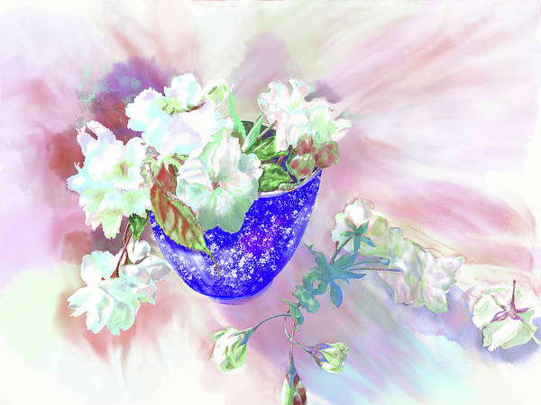 Painting - Cherry Blossoms by Xavier Francois