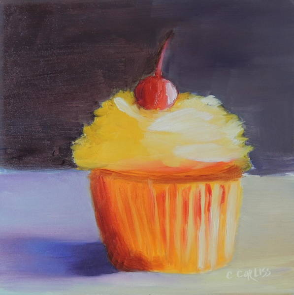 Pastel - Cherry On Top by Carol Corliss