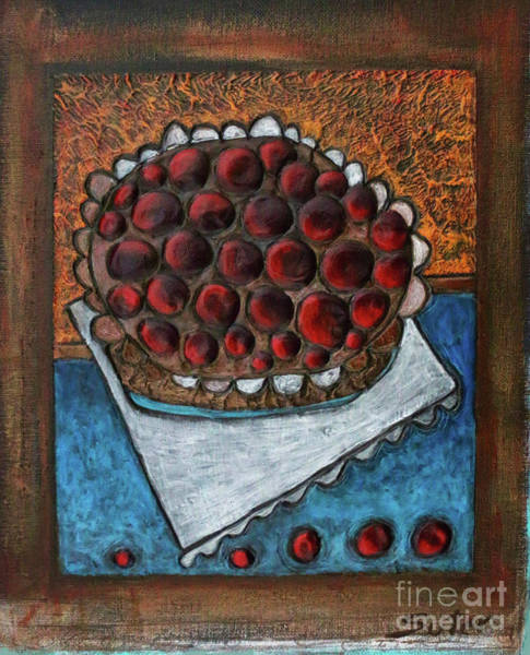 Painting - Cherry Pie by Cindy Suter