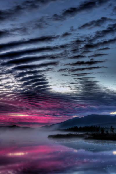 Sun Set Photograph - Cherry Pond Sunrise by Chris Whiton