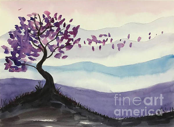Painting - Cherry Tree by Linda Anderson