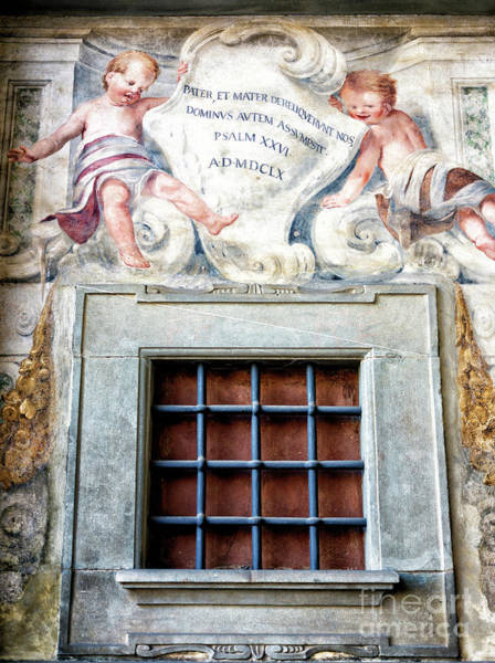 Photograph - Cherubs At The Ospedale Degli Innocenti In Florence by John Rizzuto