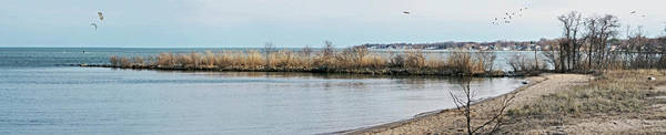 Wall Art - Photograph - Chesapeake From Ft Smallwood Pano by Brian Wallace