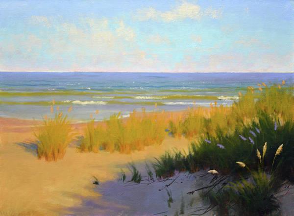 Sea Oats Painting - Chesapeake Sea Oats by Armand Cabrera