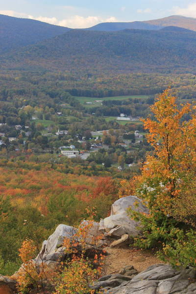 Wall Art - Photograph - Cheshire Cobble Berkshires View In Autumn by John Burk