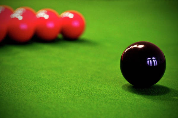 Pool Table Photograph - Chess With Balls by Ion-bogdan Dumitrescu