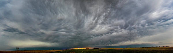 Photograph - Chester Nebraska Supercell 007 by Dale Kaminski