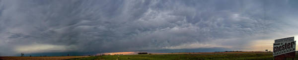 Photograph - Chester Nebraska Supercell 009 by Dale Kaminski