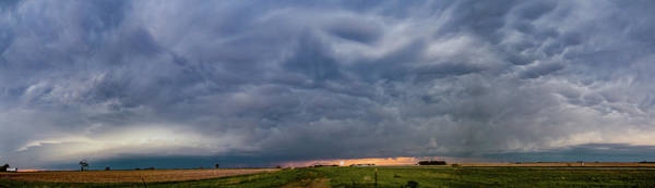 Photograph - Chester Nebraska Supercell 010 by Dale Kaminski
