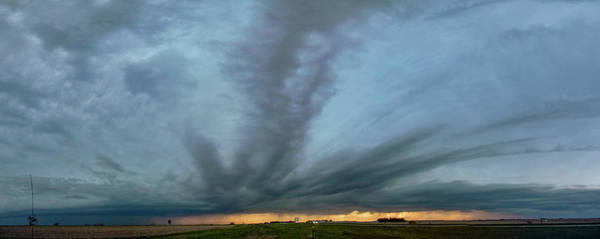 Photograph - Chester Nebraska Supercell 011 by NebraskaSC