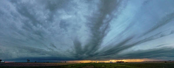 Photograph - Chester Nebraska Supercell 012 by Dale Kaminski