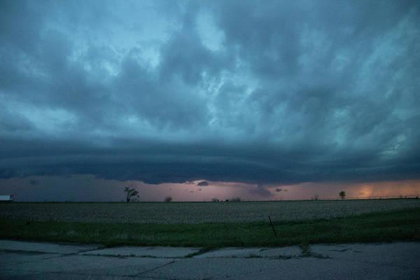 Photograph - Chester Nebraska Supercell 015 by Dale Kaminski