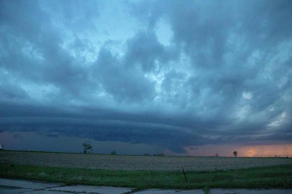 Photograph - Chester Nebraska Supercell 019 by Dale Kaminski