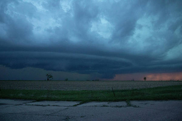 Photograph - Chester Nebraska Supercell 020 by Dale Kaminski