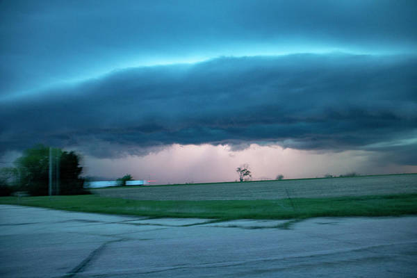 Photograph - Chester Nebraska Supercell 023 by Dale Kaminski