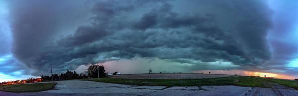 Photograph - Chester Nebraska Supercell 024 by Dale Kaminski