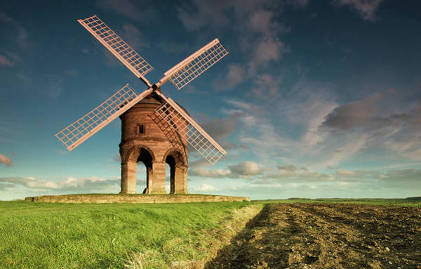 Warwickshire Photograph - Chesterton Windmill by Paul C Stokes