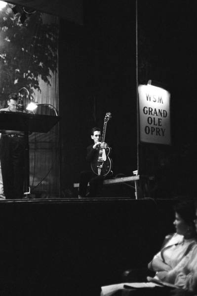 Guitarists Photograph - Chet Atkins Onstage by Jack Robinson