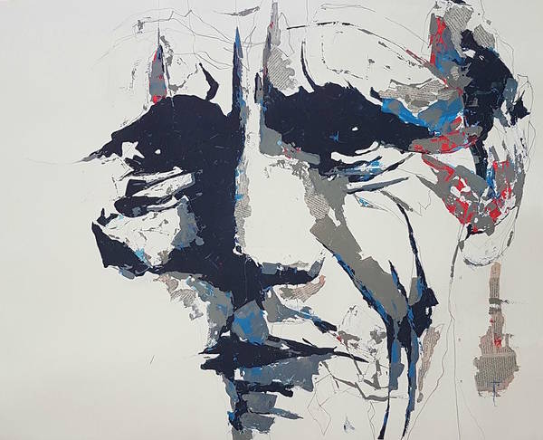 Wall Art - Painting - Chet Baker - Abstract  by Paul Lovering