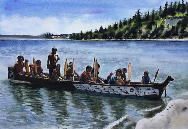 Port Townsend Painting - Chetzemoka by Michele Soderstrom
