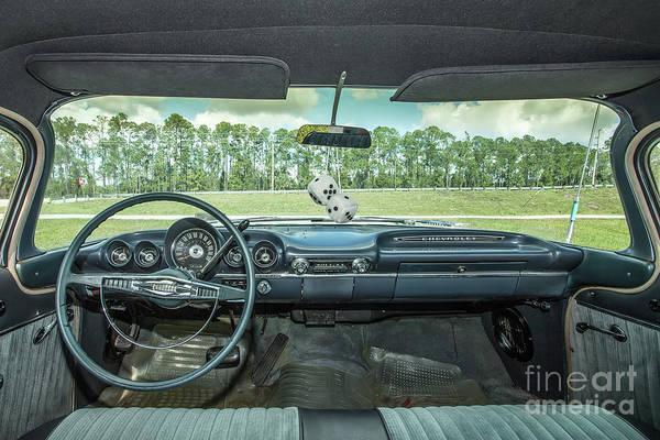 Wall Art - Photograph - Chevrolet Belair  by Rick Mann