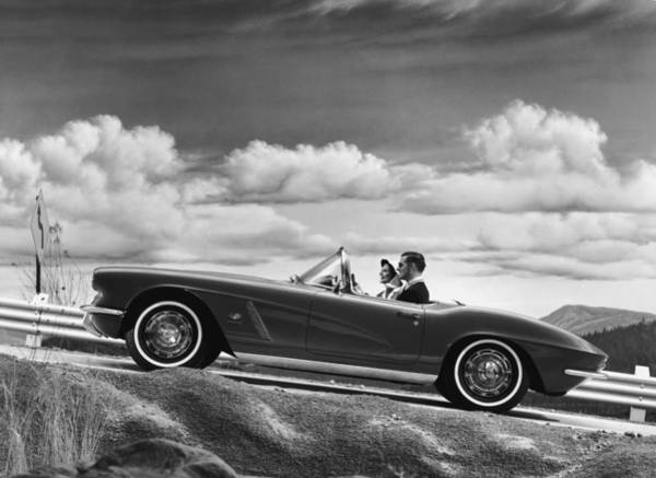 Wall Art - Photograph - Chevrolet Corvette by Archive Photos