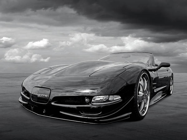 Photograph - Chevrolet Corvette C5 by Gill Billington